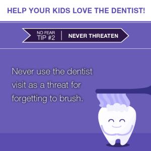 15061 Social Post - Kids LOVE the Dentist2