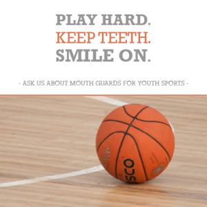 Bourbannais dentist offers sports mouthguards.