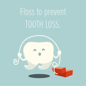 Bourbonnais dentist says floss